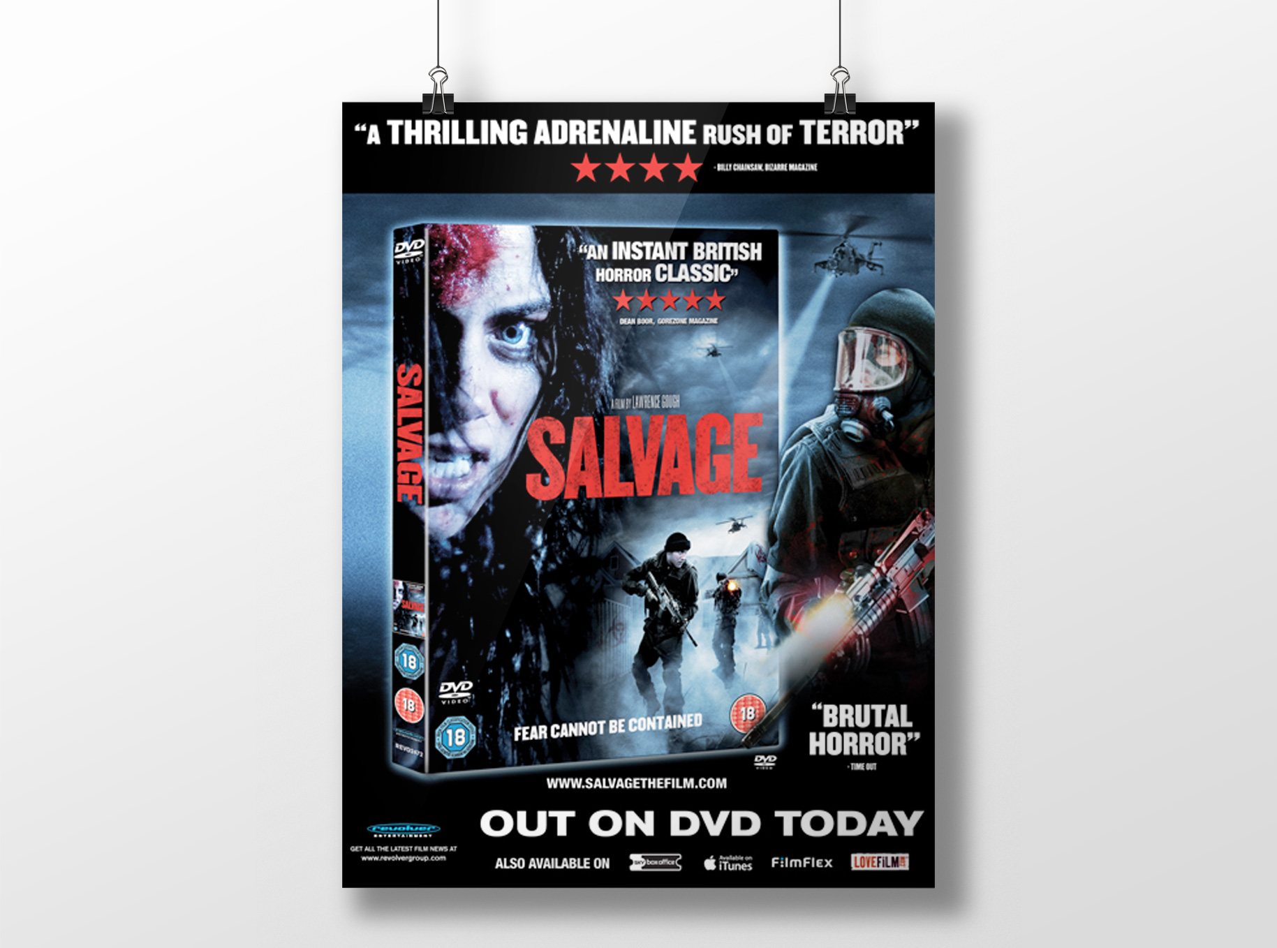 Salvage Movie Poster