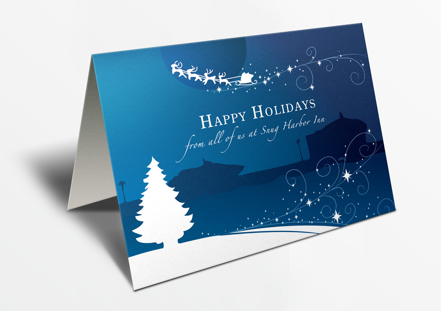Hotel Holiday Card